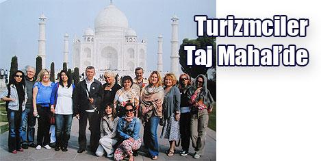 Aşkın muhteşem anıtı Taj Mahal