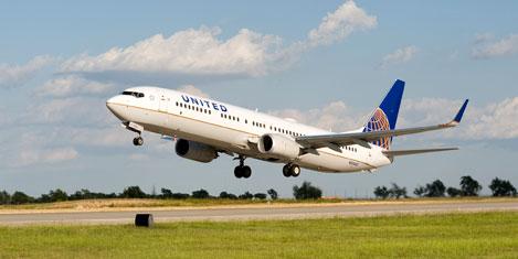 United'in Newyork uçuşuna tören