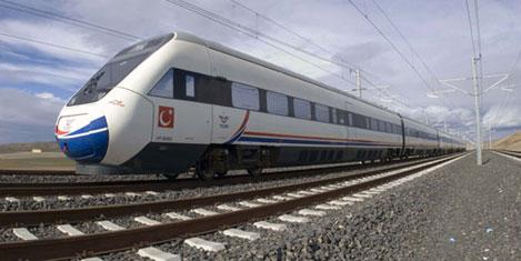 Demiryollarına havayolu modeli