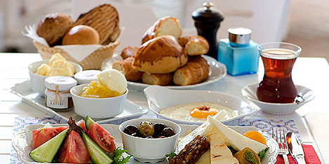 Kahvaltı Zamane Kahvesi'nde