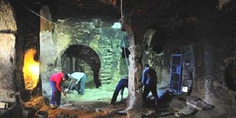 Aziz Mercurius yeraltı şehri turizmde