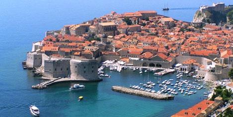 Dubrovnik bayramda 4'te 1 Türk