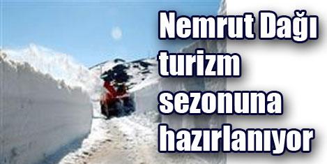 Nemrut Dağı yolu açılıyor