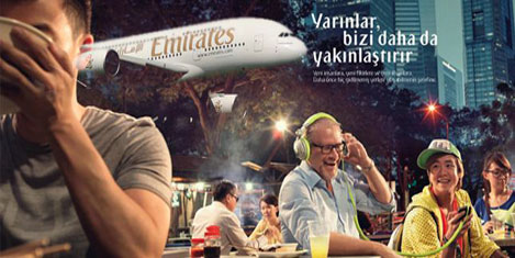 Emirates'in dünya kampanyası