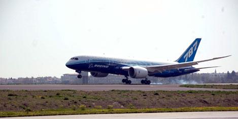 Boeing 787 Dreamliner Türkiye'de