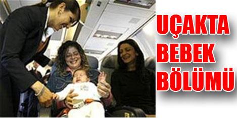 Malaysia Airlines'ta 'çocuk bölümüt'