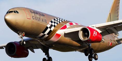 Bahreyn'den Gulf Air'e destek