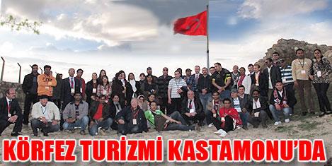 Kastamonu Körfez turizmini ağırladı