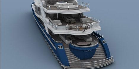 Türk teknesine en iyi dizayn ödülü