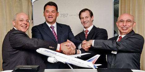 Transaero'dan Dreamliner siparişi