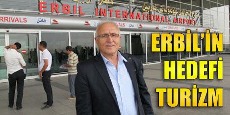 Kuzey Irak'ta Türkçe turizm broşürü