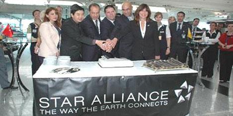 Star Alliance'ın 15'inci yılı kutlandı