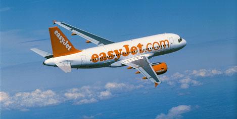 Easyjet'in cirosu yüzde 15,7 arttı