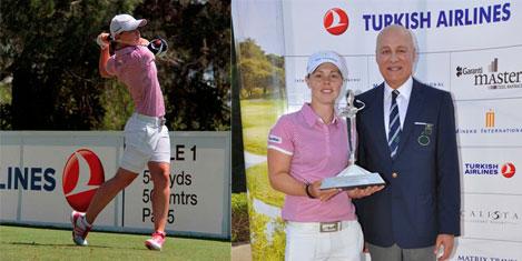 Christel Boeljon golfte şampiyon