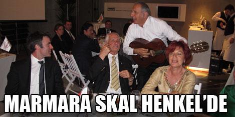 Skal Marmara, Henkel'in konuğu