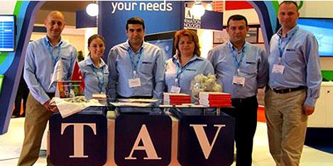 TAV,'Dubai Airport Show 2012'de