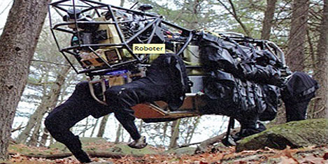 Amerikan ordusuna robot katırlar