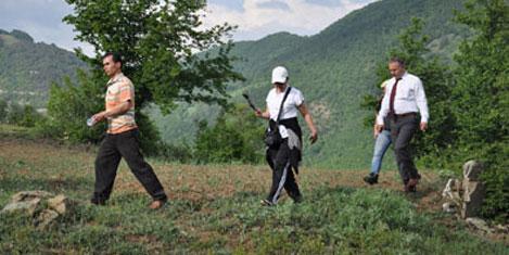 Ayvacık turizm yürüyüşünde