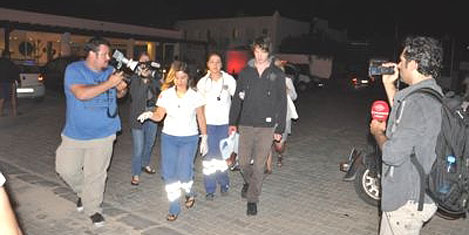 Otelde 83 turist zehirlendi