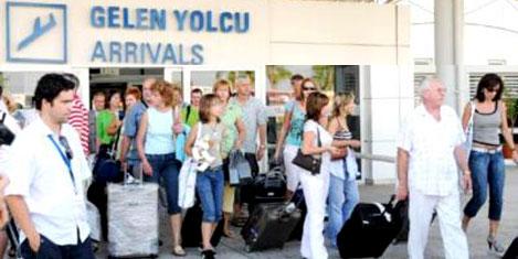 Antalya'ya gelen turist azaldı