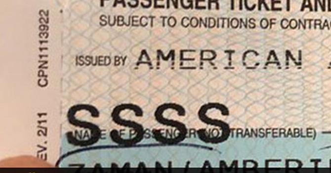 ABD yolcusu Türklerin biletlerine vurulan damga!
