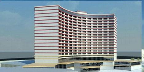 Gerkes, Mardin'e otel yapıyor