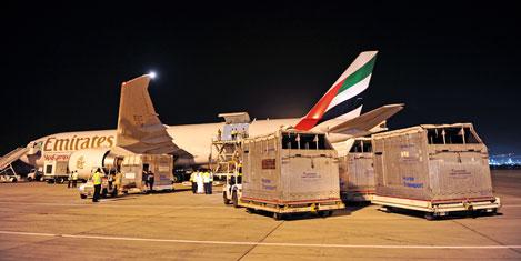 Emirates SkyCargo rekor at taşıdı