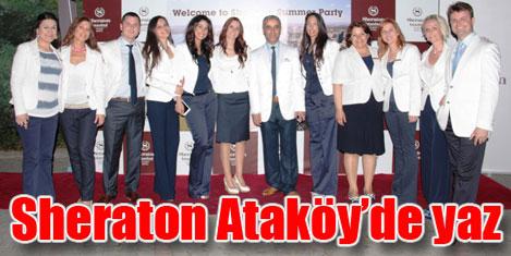 Sheraton İstanbul Ataköy'de parti