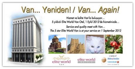 Tahran'da Elite World Van tanıtıldı