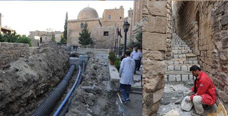 Mardin'in 7 bin yıllık evleri kurtuldu