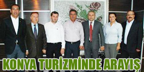TÜRSAB. Konya turizmini görüştü