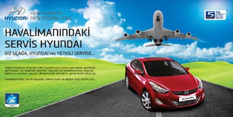 Havalimanındaki Servis Hyundai