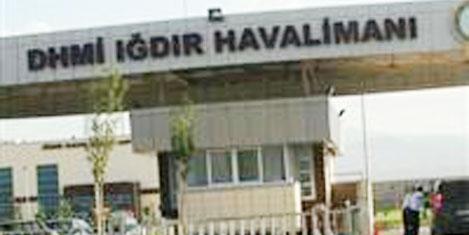 Iğdır Havalimanı törenle açıldı