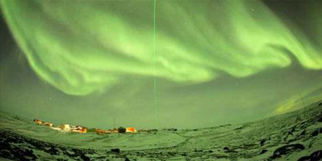Atmosferde eşsiz  'auroralar'