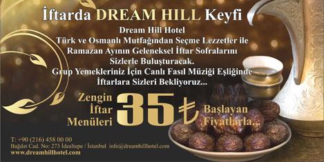 Dream Hill Hotel'de iftar keyfi