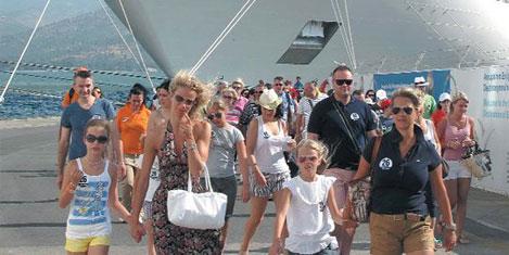İzmir'de Avrupalı turist azaldı