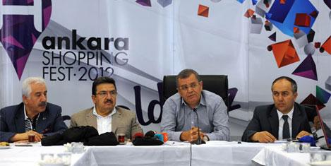 Ankara festivaline turist bereketi