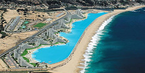 Dünyanın en büyük yüzme havuzu