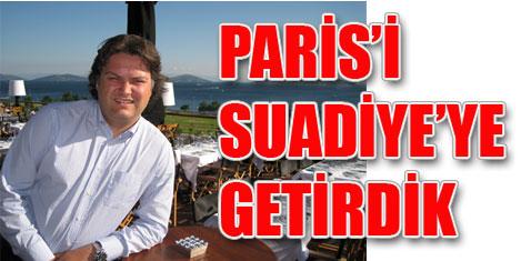 Cafe de Paris keyfi Suadiye Oteli'nde