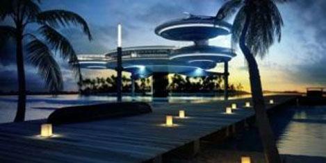 Dubai denizaltına otel yapacak