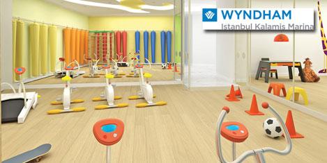 Wyndham İstanbul'da çocuklara spa