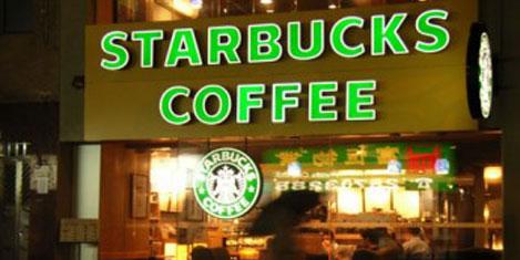Starbucks'ta parasız kahve devri