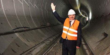 Dünyanın en uzun tüneli yapılıyor