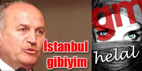 Ben İstanbul'a sevdalıyım.