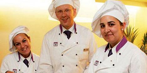 'Uçan aşçılar' servis yapacak