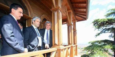 Bakan Ergün'ün tarihi eser ziyareti