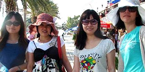 Çinliler keşfe çıktı, turizm canlandı