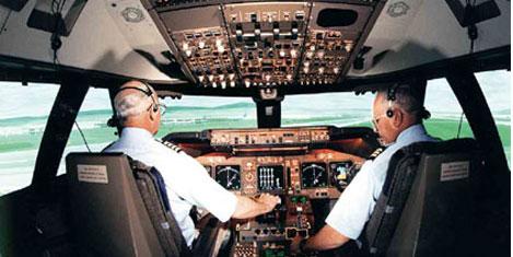 Pilotlar gelecekte kuyrukta oturacak