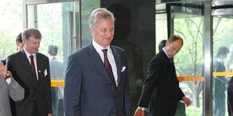 Belçika Prensi Philippe geliyor