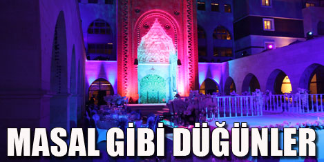 """Antalya """"evlenme kenti"""" oldu"""